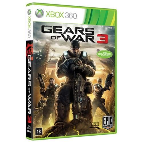 Gears of War 3 - Xbox 360 Seminovo