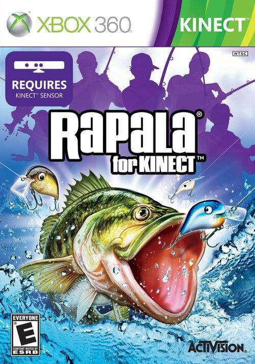 Rapala for Kinect - Xbox 360 Seminovo