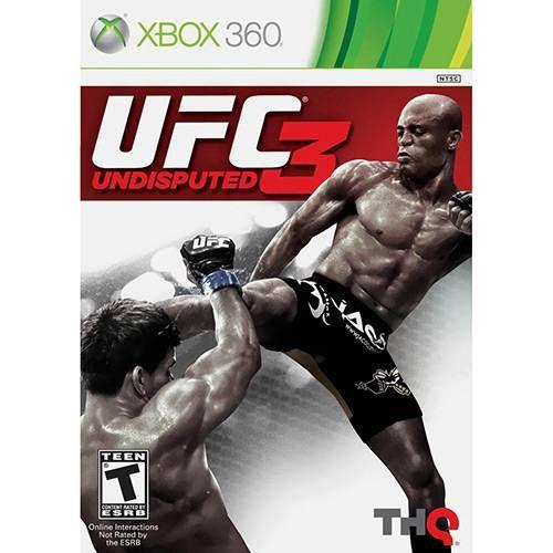 UFC 3: Undisputed - Xbox 360 Seminovo