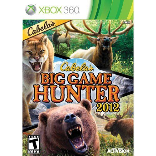 Cabelas Big Game Hunter 2012 - Xbox 360 Seminovo