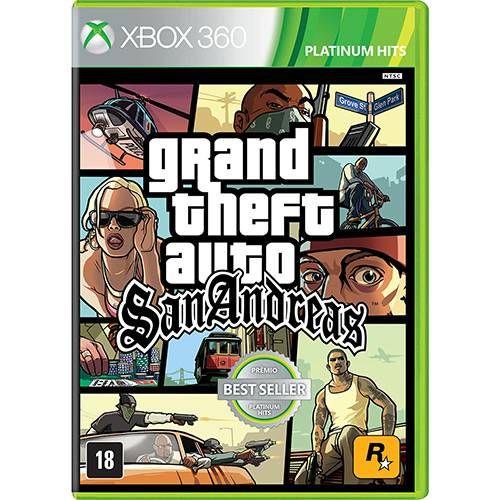 Grand Theft Auto: San Andreas (GTA) - Xbox 360 Seminovo