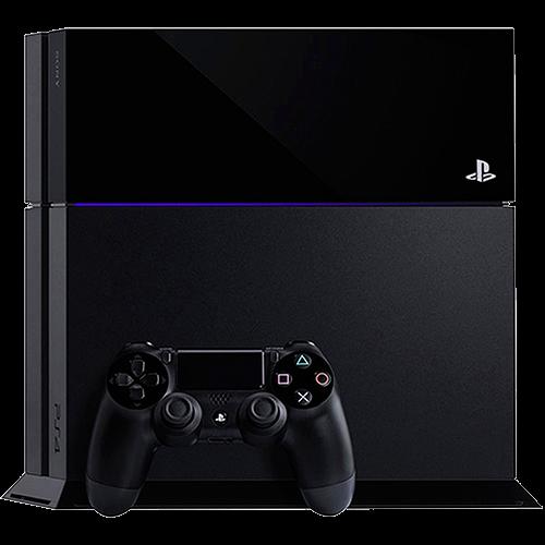 Playstation 4 500gb Preto + Controle Sem Fio Seminovo