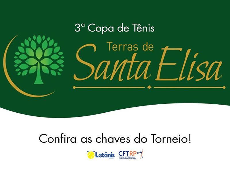 3ª Copa de Tênis com Premiação - Terras de Santa Elisa
