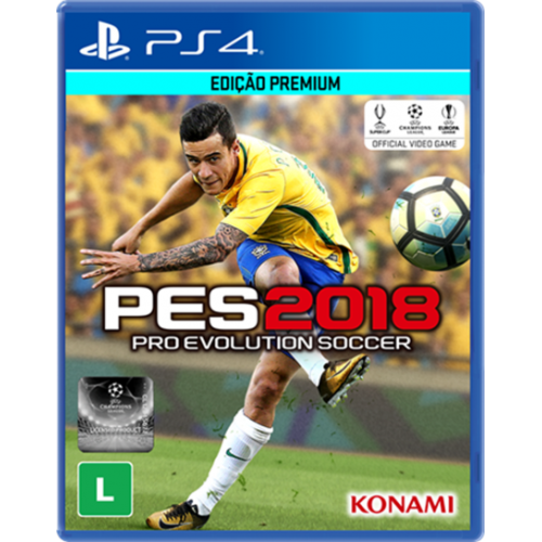 Pro Evolution Soccer 2018 - PS4 Seminovo