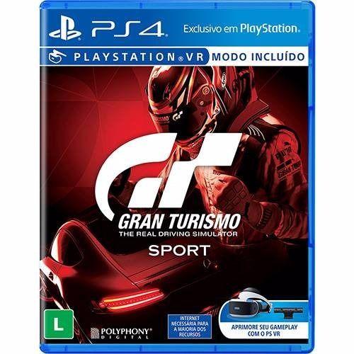 Gran Turismo Sport - PS4 Seminovo