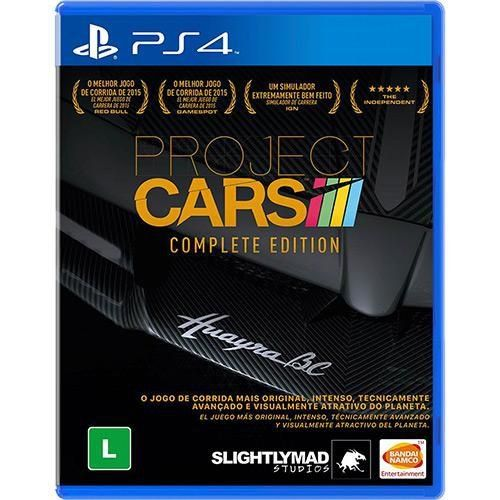 Project Cars Complete Edition - PS4 Seminovo