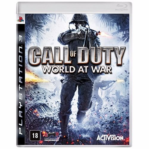 Call of Duty World At War - PS3 Seminovo