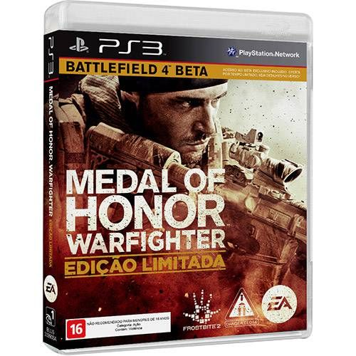 Medal Of Honor Warfighter Limited Edition - Ps3 Seminovo