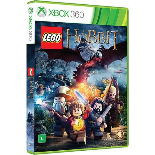 Lego O Hobbit - Xbox 360 Seminovo