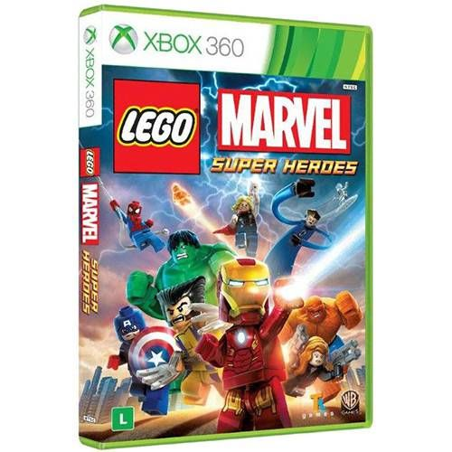 Lego Marvel Super Heroes - XBOX 360 Seminovo