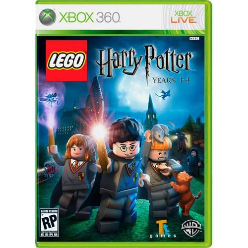 Lego Harry Potter 1-4 - Xbox 360 Seminovo