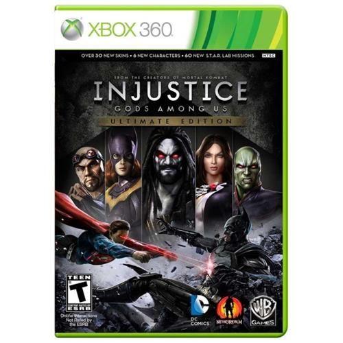 Injustice Gods Among Us Ultimate Edition - Xbox 360 Seminovo