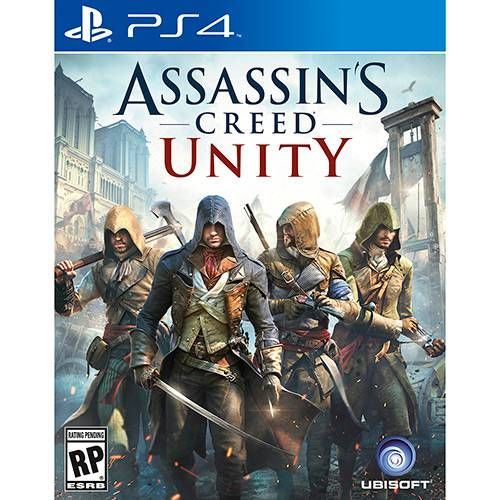 Assassins Creed Unity - PS4 Seminovo
