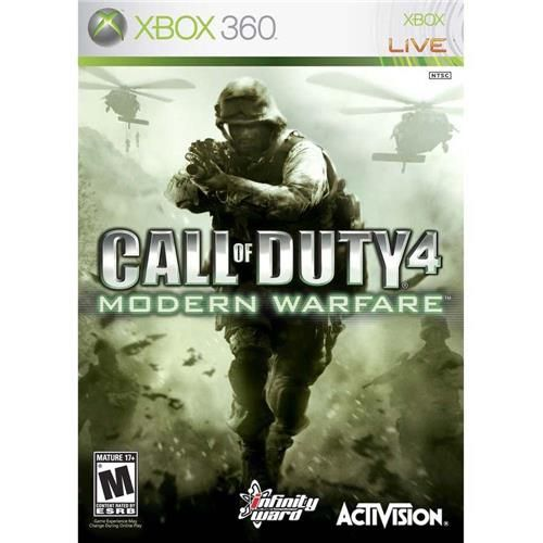 Call of Duty 4: Modern Warfare - Xbox 360 Seminovo