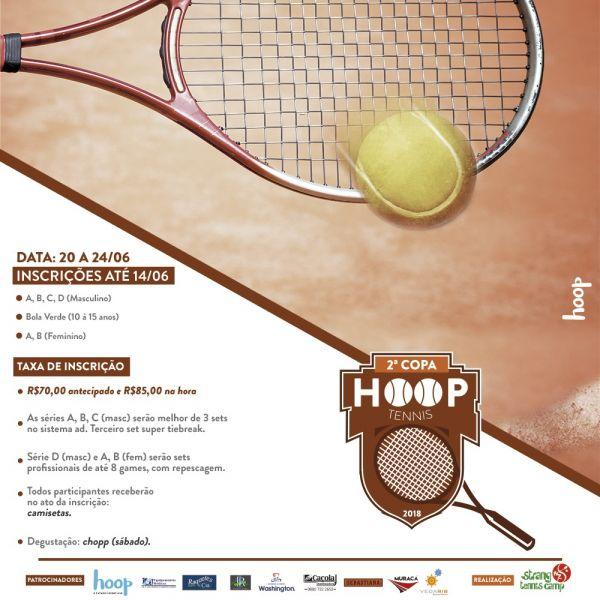 Copa HOOP de Tênis - 2ª Etapa Ranking Strang