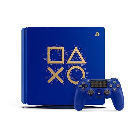 Playstation 4 Slim 1TB Limited Edition Blue + Controle sem fio
