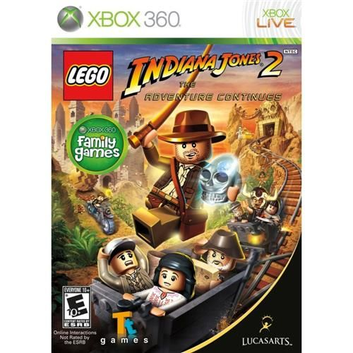 Lego Indiana Jones 2 - Xbox 360 Seminovo