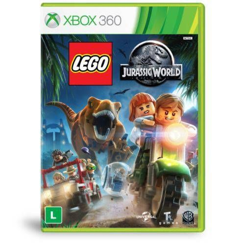 Lego Jurassic World - Xbox 360 Seminovo