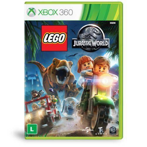 Lego Jurassic World - Xbox 360 Seminovo