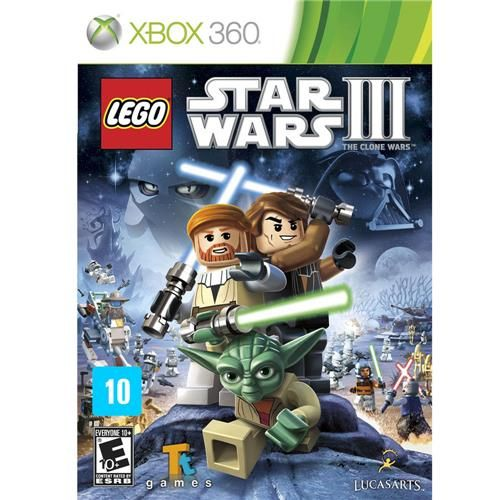Lego Star Wars III - Xbox 360 Seminovo