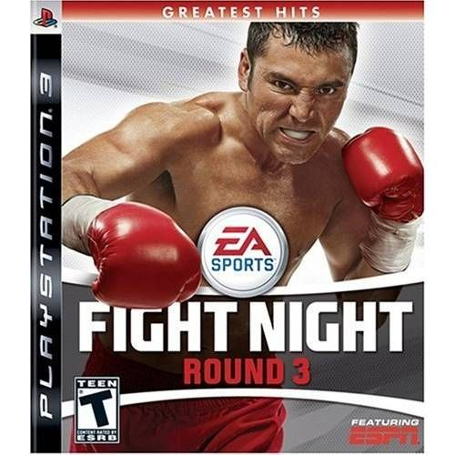 Fight Night Round 3 - PS3 Seminovo