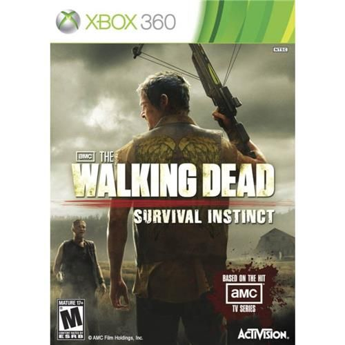 The Walking Dead Survival Instinct - Xbox 360 Seminovo