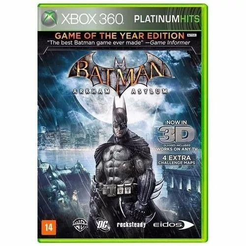 Batman Arkham Asylum - Xbox 360 Seminovo