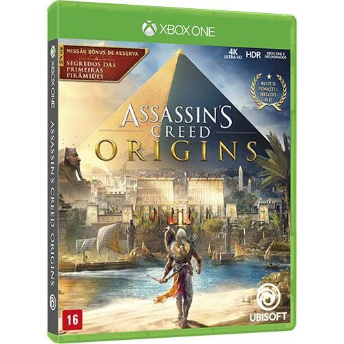 Assassin's Creed Origins - Xbox One Seminovo