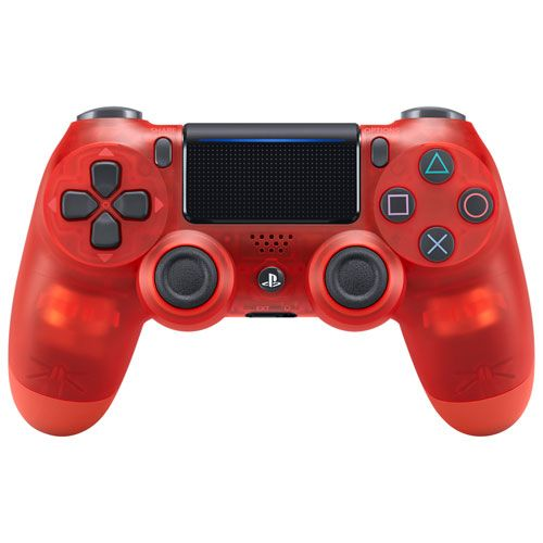Controle Sem Fio - Dualshock 4 Cristal Red - PS4
