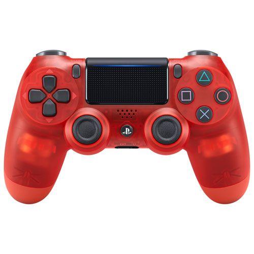 Controle Sem Fio - Dualshock 4 Cristal Red - PS4
