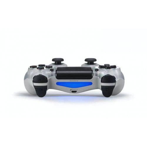 Controle Sem Fio - Dualshock 4 Cristal Transparente - PS4