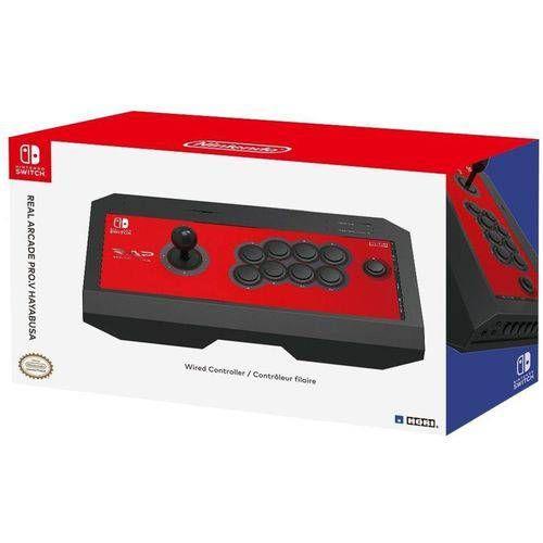 Controle Real Arcade Pro V Hayabusa (Hori) - Switch
