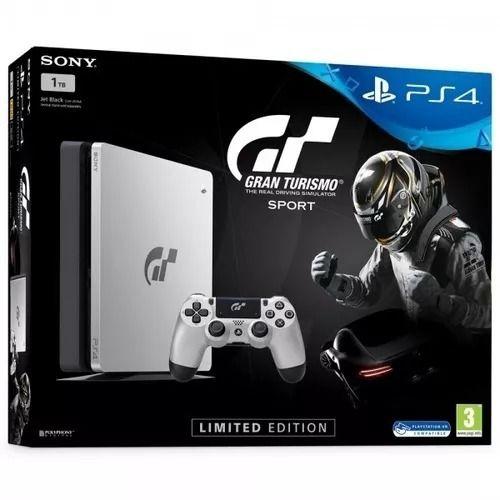 Playstation 4 Slim 1TB GT Sport + Controle Sem Fio