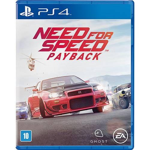 Need For Speed: Payback - PS4 Seminovo