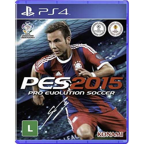 Pro Evolution Soccer 2015 - PS4 Seminovo