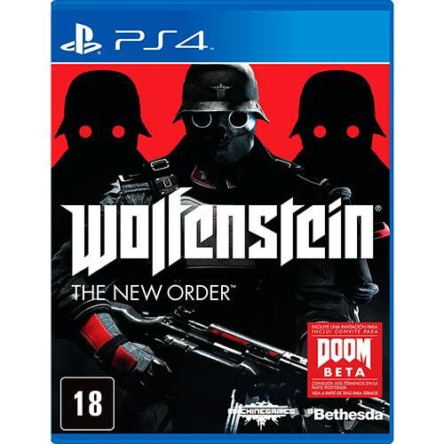 Wolfenstein - The New Order - PS4 Seminovo