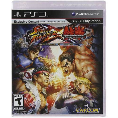 Street Fighter X Tekken  - Ps3 Seminovo