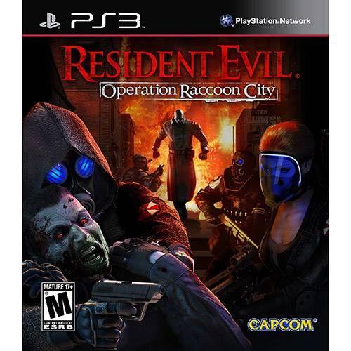 Resident Evil - Operation Raccoon City - PS3 Seminovo