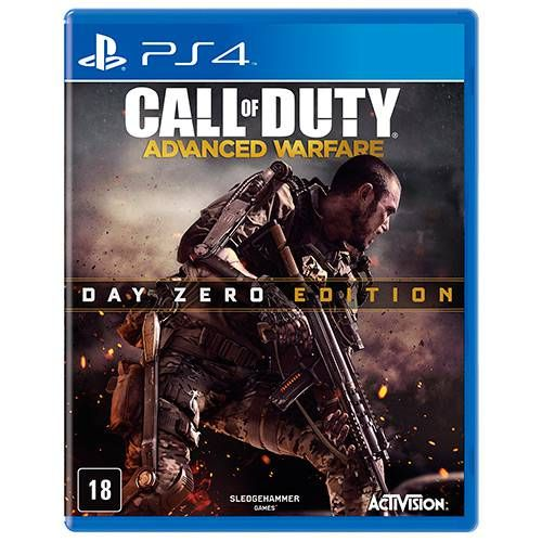Call Of Duty: Advanced Warfare - Edição Day Zero - PS4 Seminovo