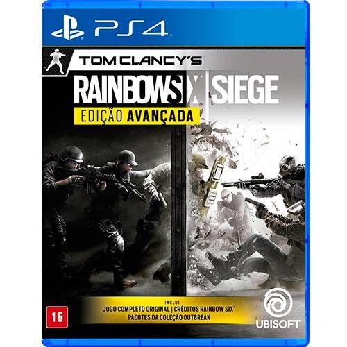 Tom Clancy's Rainbow Six Siege: Edição Avançada - PS4
