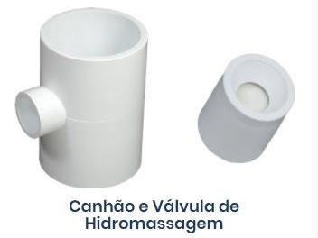 Dispositivo para Piscinas de Fibra - Canhão de hidro.