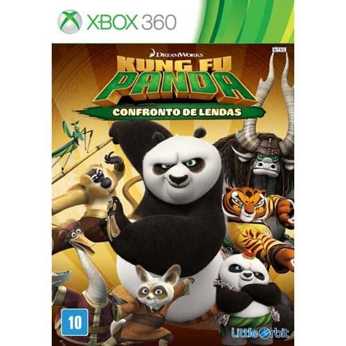 Kung Fu Panda: Confronto de Lendas - Xbox 360 Seminovo
