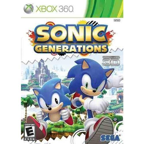 Sonic Generations - Xbox 360 Seminovo