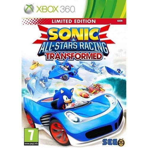 Sonic & All Stars Racing Transformed - Xbox 360 Seminovo