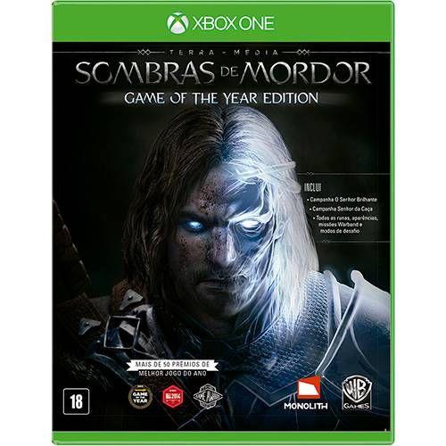 Terra Média: Sombras de Mordor GOTY - Xbox One Seminovo