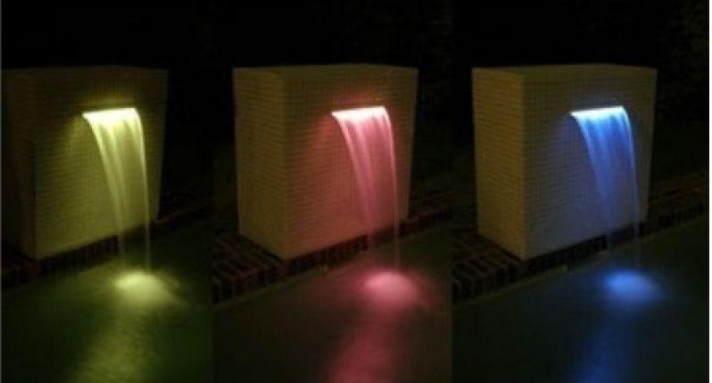 Cascata de Embutir com LED