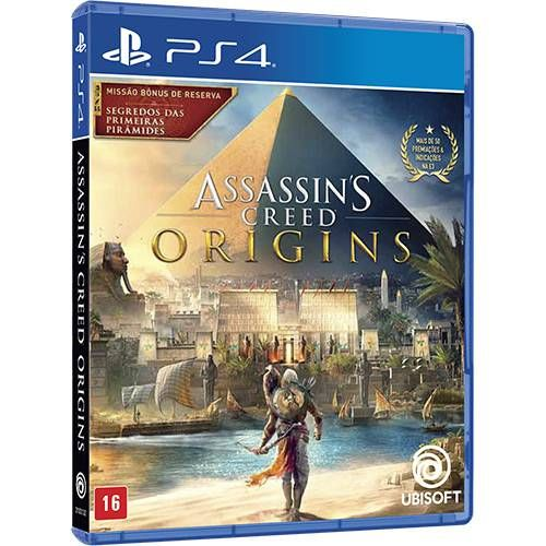 Assassins Creed Origins - PS4 Seminovo