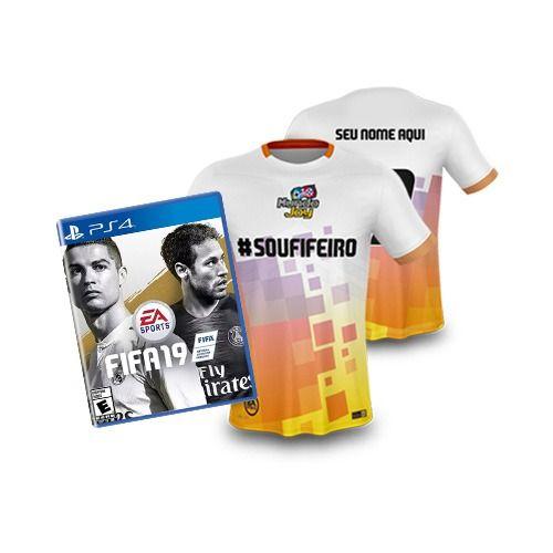 Fifa 19 + Camisa Personalizada - PS4 Pré venda 28/09/2018