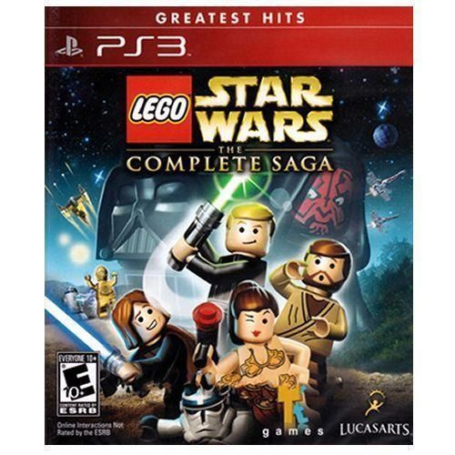 Lego Star Wars The Complete Saga - PS3 Seminovo