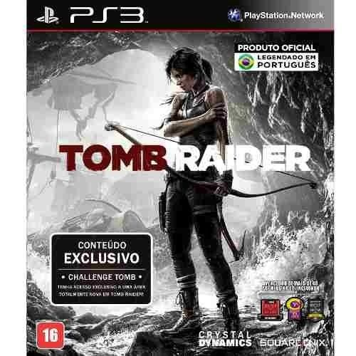 Tomb Raider - PS3 Seminovo